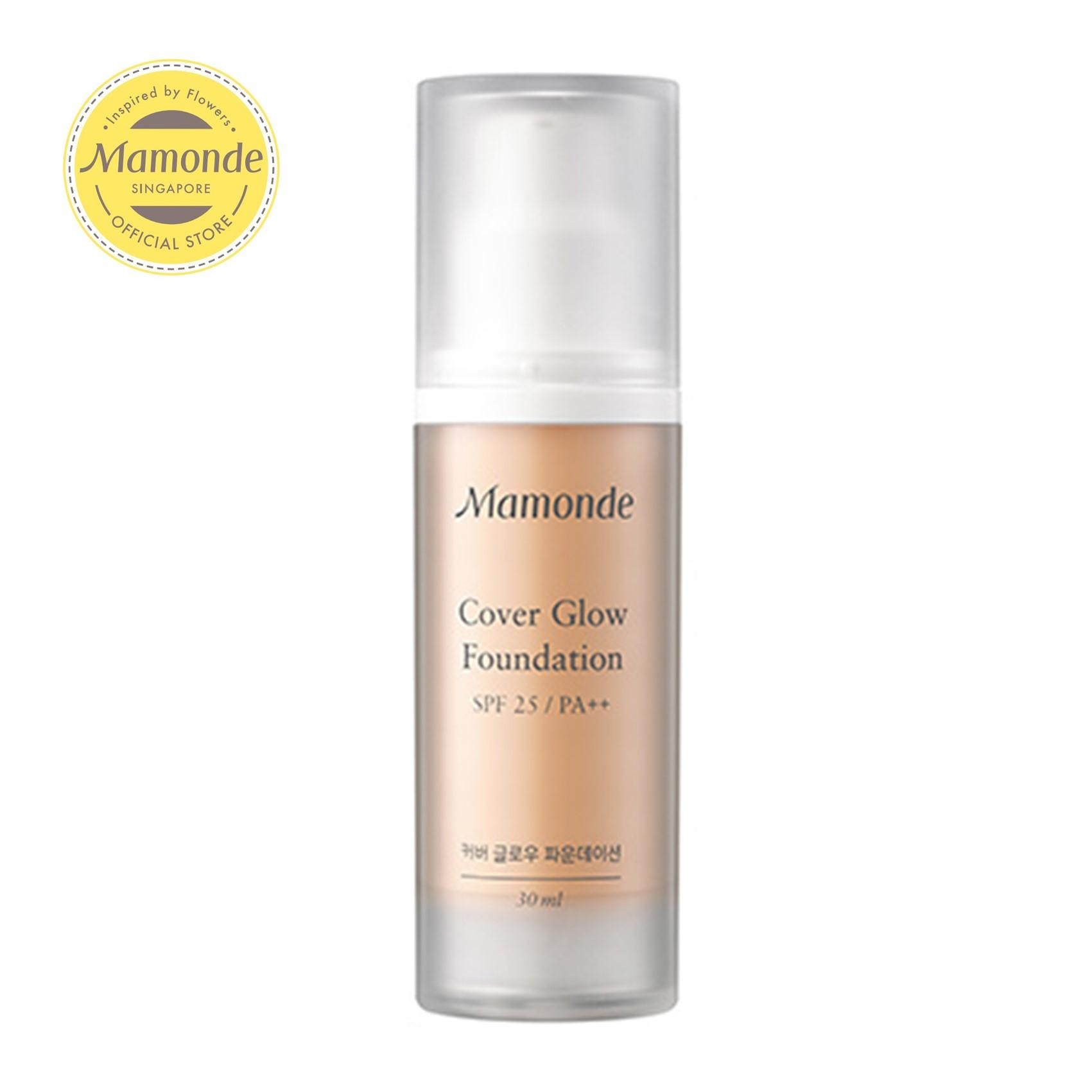 [flash Sales] Mamonde Cover Glow Foundation [3 Shades Available, Choose From Options] 30ml By Mamonde (capitaland Merchant).