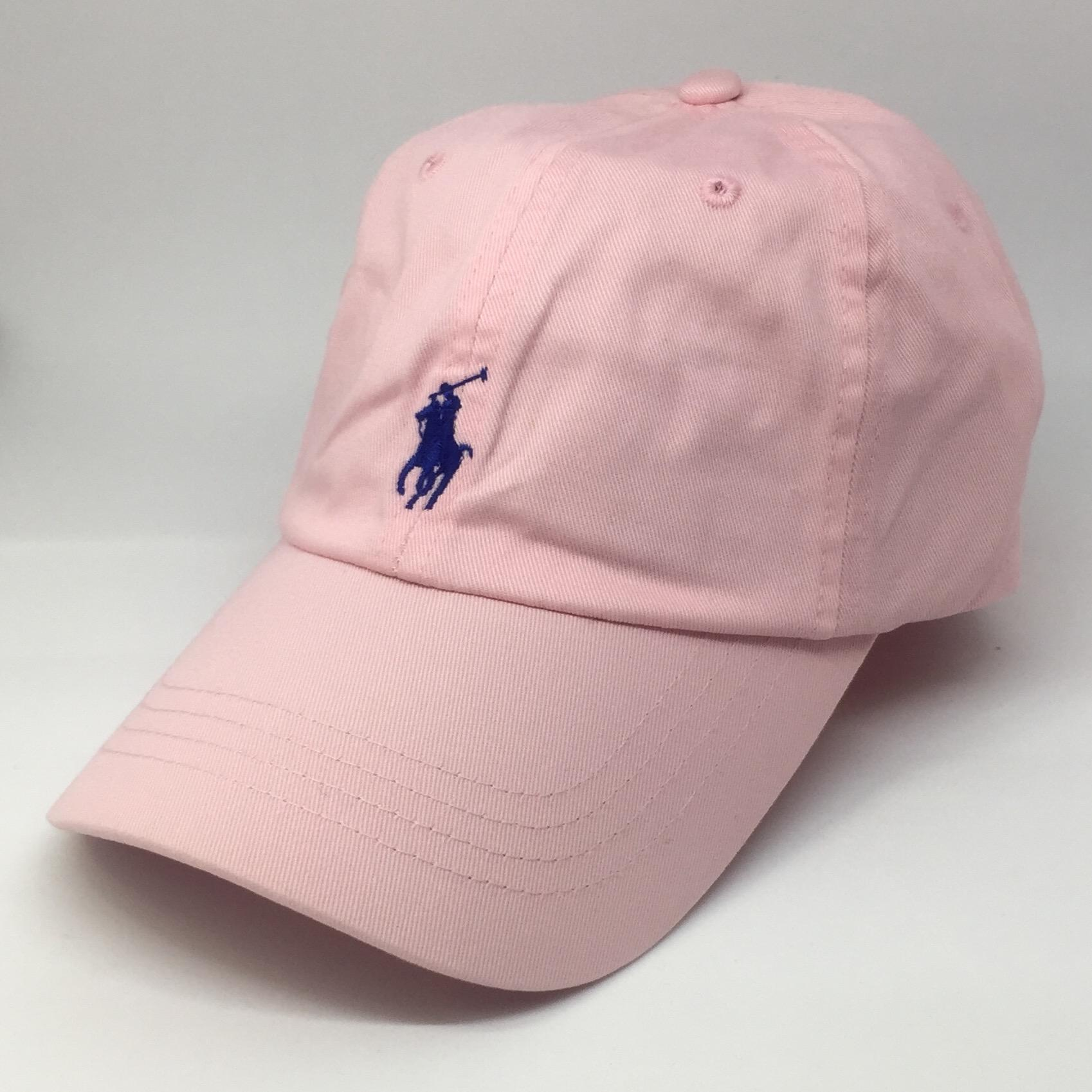 Buy Ralph Lauren Baseball Cap Pink Polo Ralph Lauren