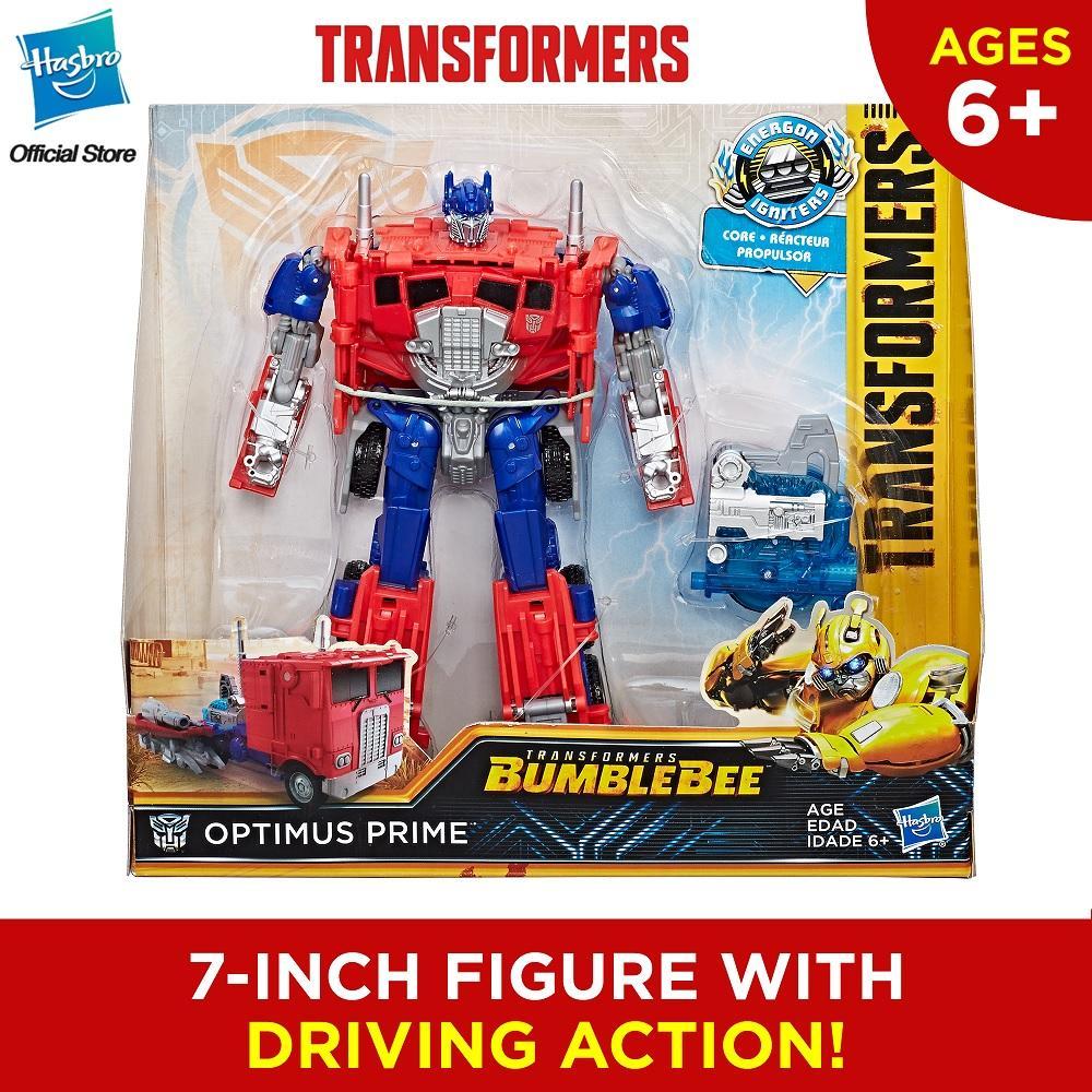 Transformers: Bumblebee Movie Energon Igniters Nitro Series Optimus Prime Action Figure