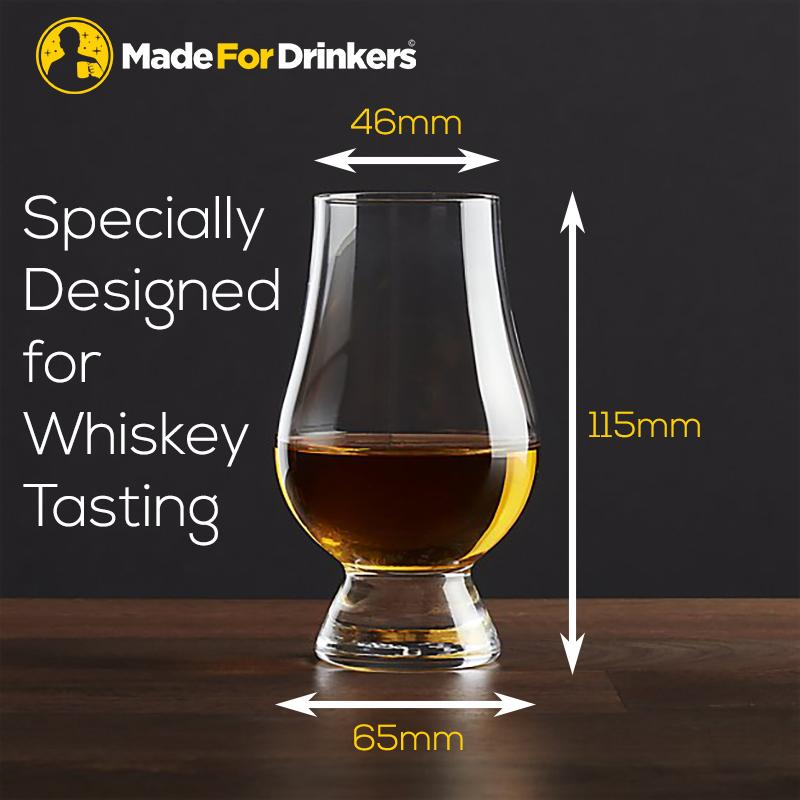 Whiskey Tasting Glass (1 Pair) By Madefordrinkers.