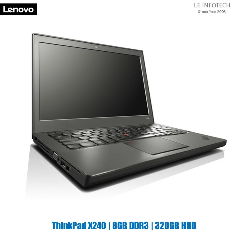 Lenovo ThinkPad X240 12.5 in LED Business Ultrabook i5-4300U@1.9Ghz 4GB RAM 320GB HDD WIN 10 Pro 30 days warranty