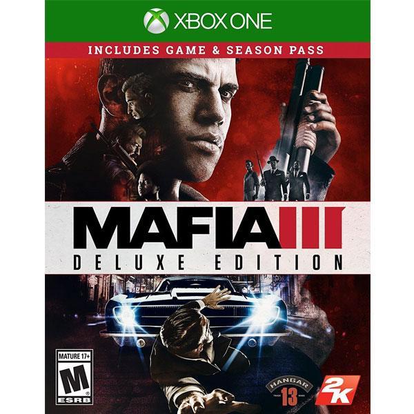 Promo Xbox One Mafia 3 Deluxe Edition
