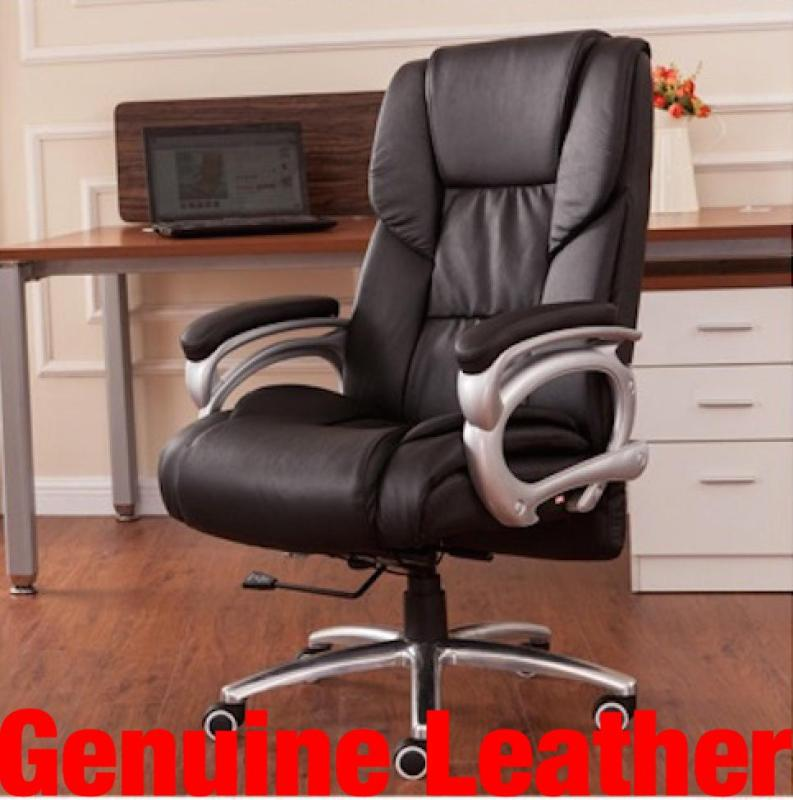UMD Half Genuine Leather Boss Chair 504 (Free Installation) Singapore