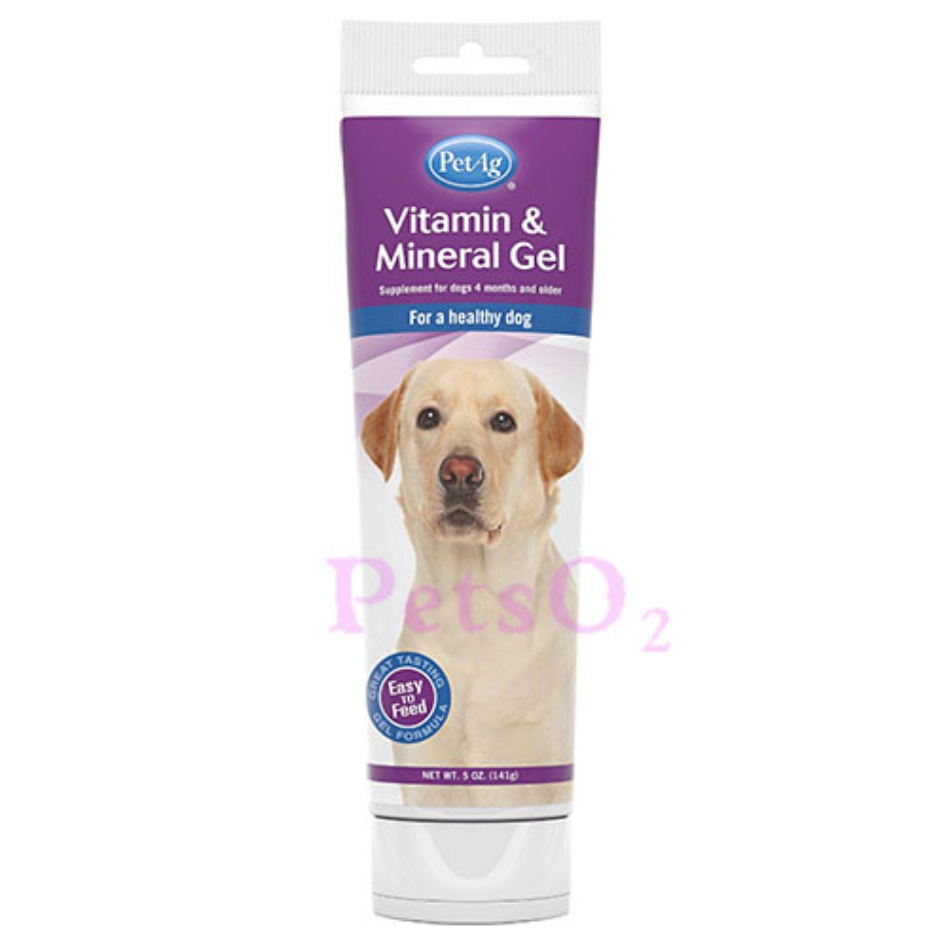 Petag Dog Vitamin Mineral Gel 141g By Petso2.