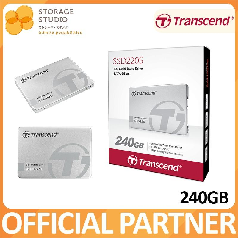 Review Transcend Ssd220S 240Gb Ssd On Singapore