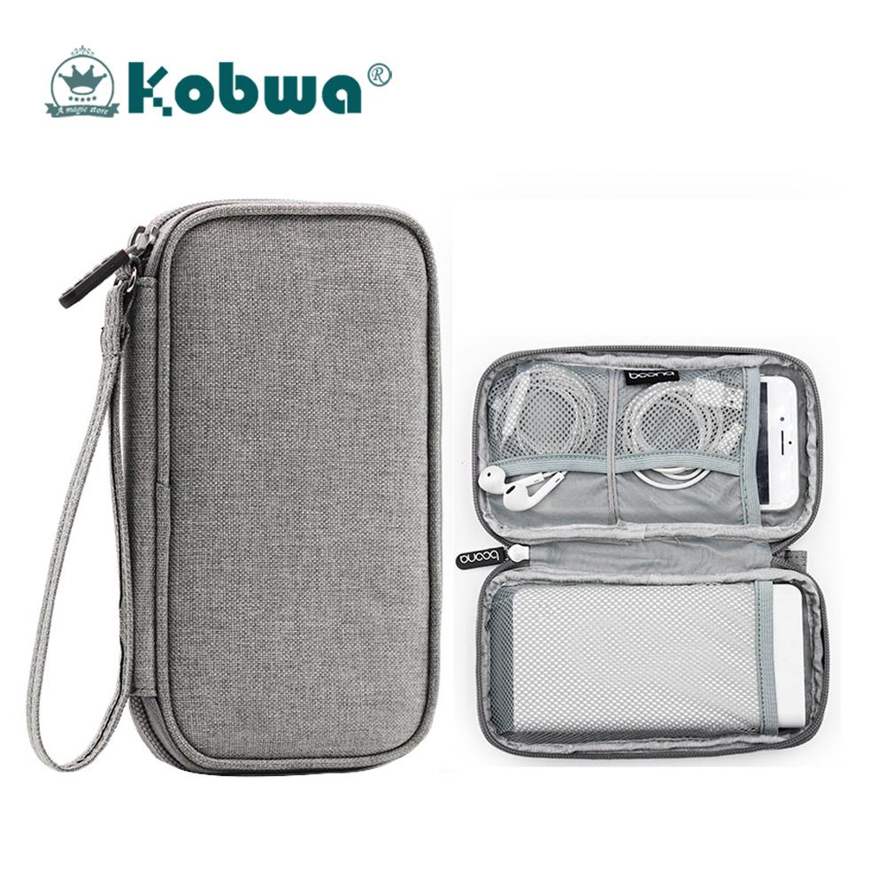 Kobwa Travel Portable Digital Cable Storage Bag,electronics Accessories Carrying Case Pouch,gadget Organizer Bag - Intl By Kobwa Direct.
