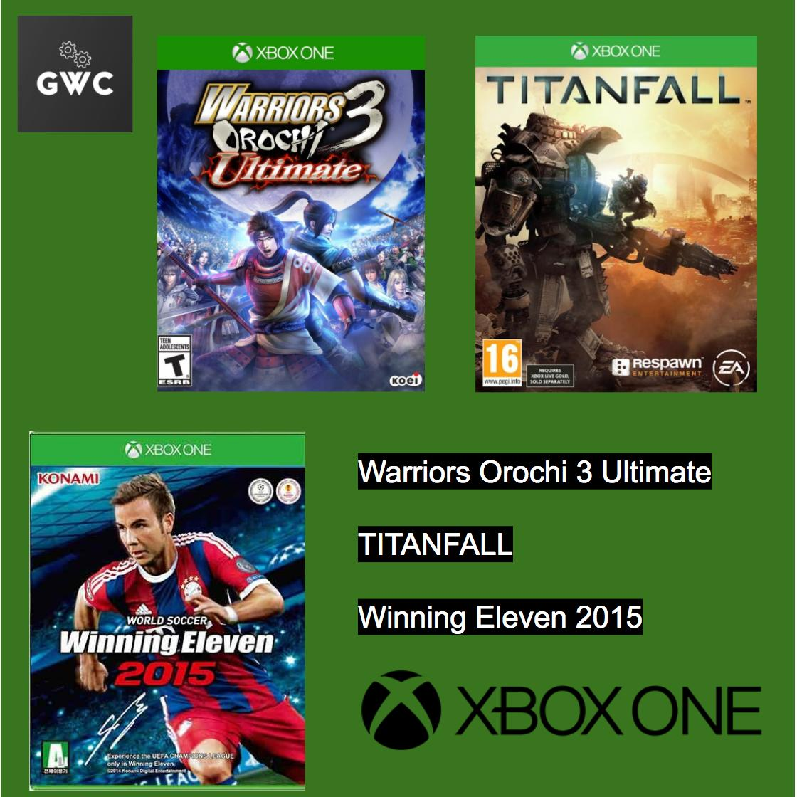 Sales Price Xbox One Games X 3 Warriors Orochi 3 Ultimate Titanfall Winning Eleven 2015