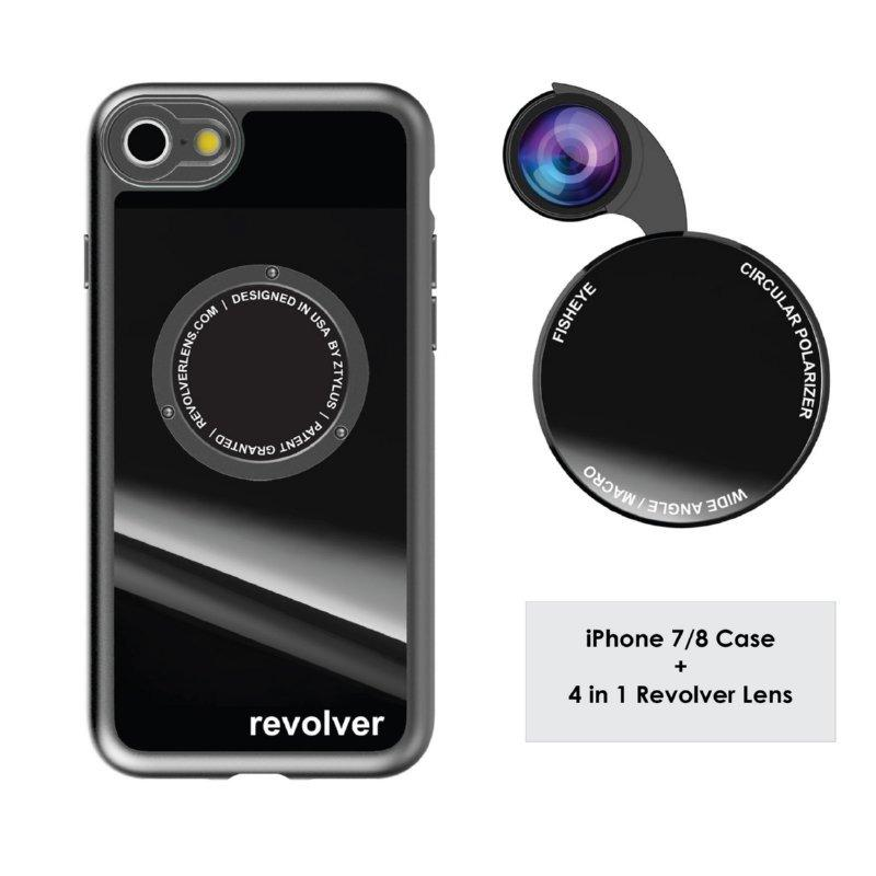 Who Sells Ztylus Revolver M4 Lens Kit Gloss Black For Apple Iphone 7 Iphone 8 The Cheapest