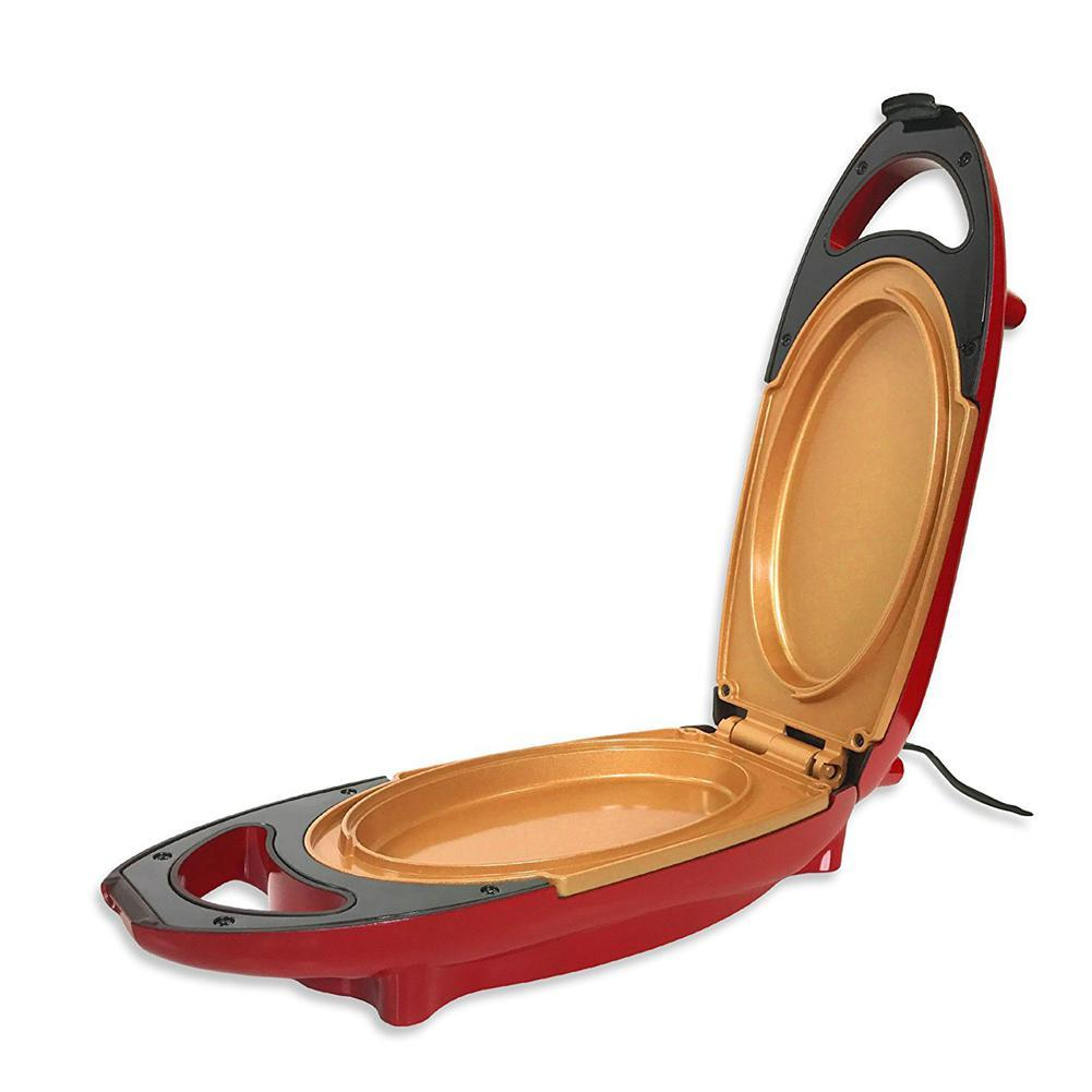 Niceeshop Red Copper 5-Minute Chef - Omelette Pan The Non-Stick Cooker That Will Cook Your Favourite Meals In 5 Minutes Or Less By Nicee Shop.