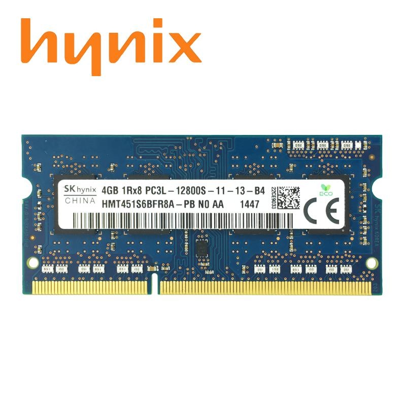 Hynix Orignial New Ddr3L 4Gb 1600Mhz Pc3L 12800S For Laptop Ram Memory 1 35V Low Voltage Hynix Discount