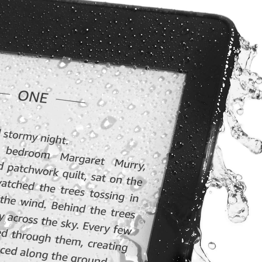 (Free Screen Protector) Latest All-new 2018 Waterproof, Thinner Kindle  Paperwhite 8GB / 32GB with Audiable (With Special Offers)