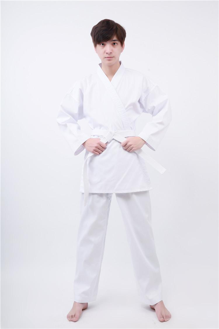 Karate Suit Children Adult Canvas Karate Suit Karategi White Long Sleeve Karate Road By Taobao Collection.