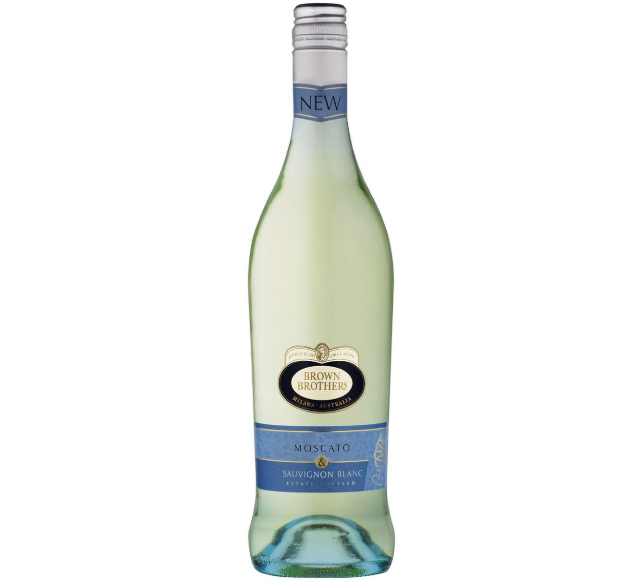 Brown Brothers Moscato Sauvignon Blanc 750ml By Newcastle Drinks.