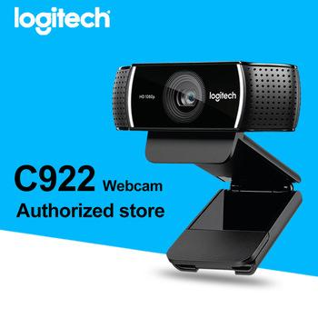 Logitech C922 HD Pro Stream Webcam FULL HD 1080P with 30FPS with H.264 Recording 960-001090 (1 Year s Warranty) C 922