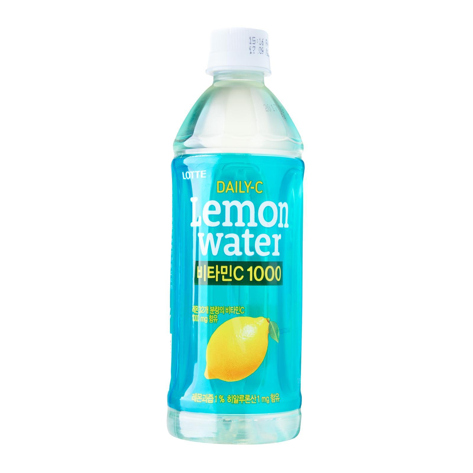 Lotte Daily-C Lemon Water (500ml) By Allstar Marketplace.
