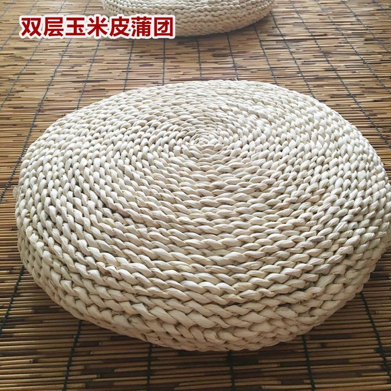 Meditation straw thickened tatami throw pillow futon.