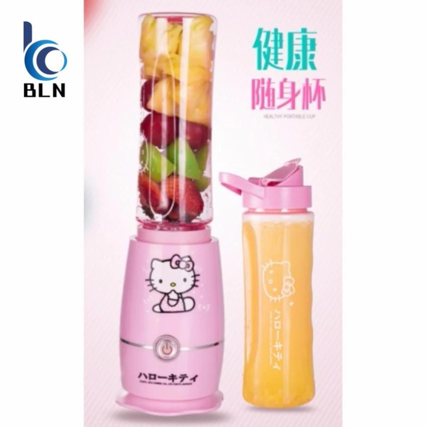Portable Hello Kitty Juice Smoothie Blender Free Shipping