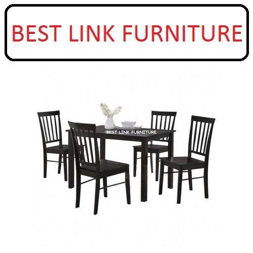 BEST LINK FURNITURE BLF 1302-1 (1 + 4) Wooden Dining Set