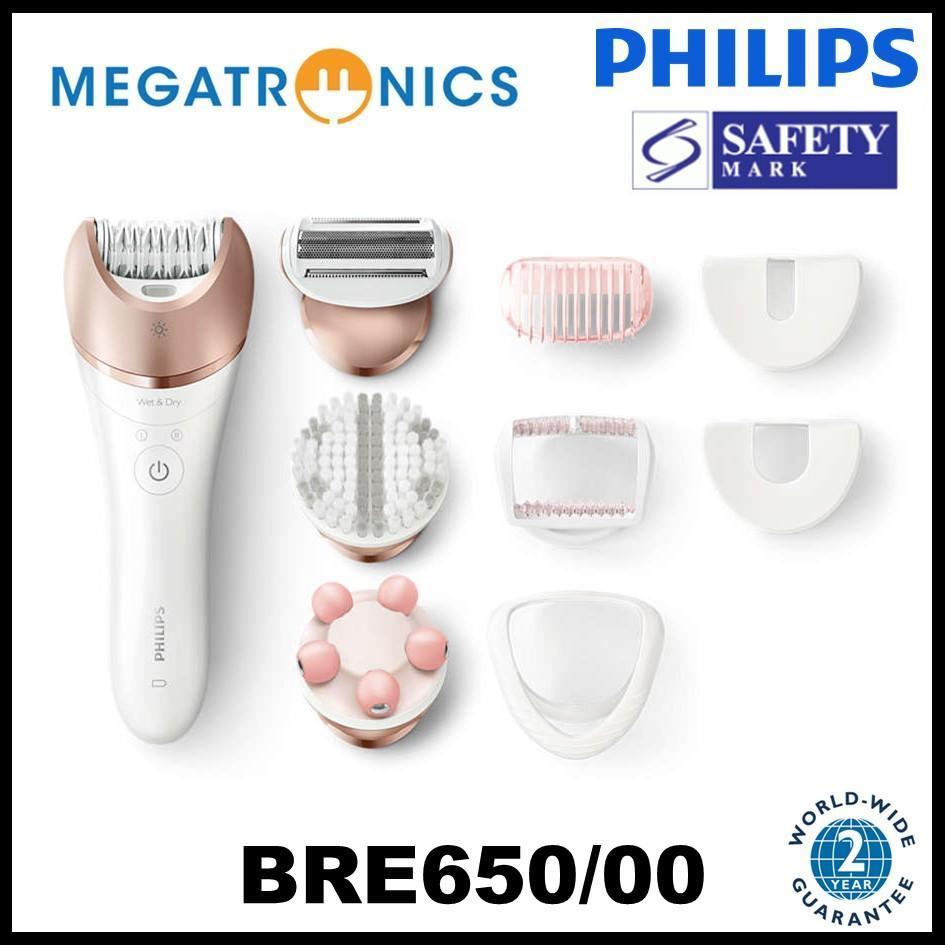 Buy Philips BRE650/00 Satinelle Prestige Wet and Dry Epilator - Rose Gold Singapore