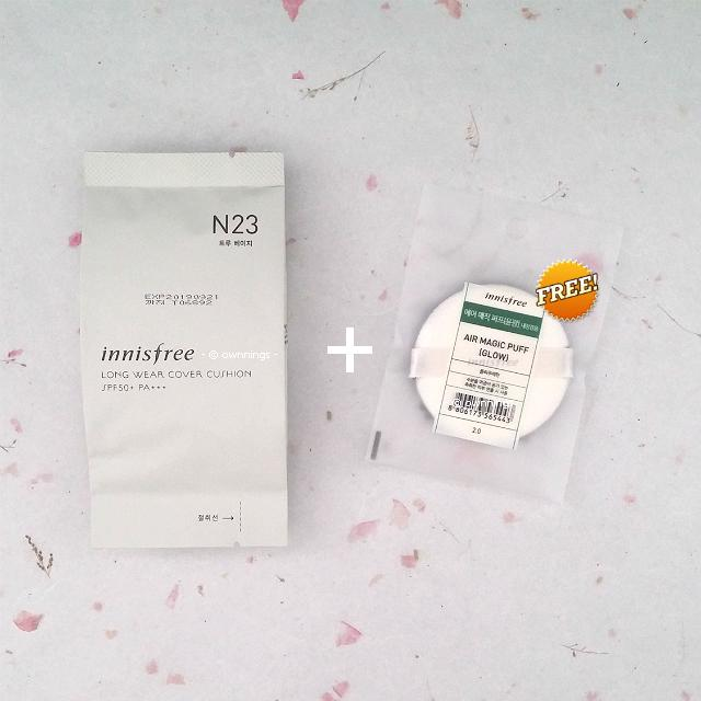 Innisfree My Cushion Long Wear Cover Cushion Refill Coupon