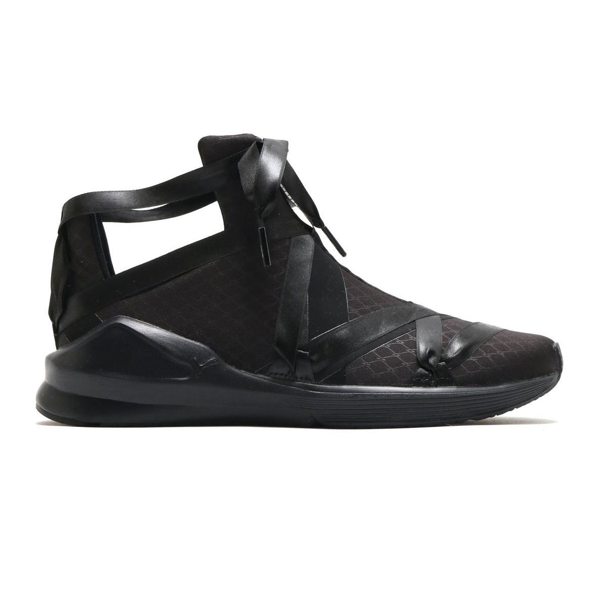 fad6f2fc771e73 PUMA Fierce Rope Satin En Pointe - Women Shoes (Black) 190538-02