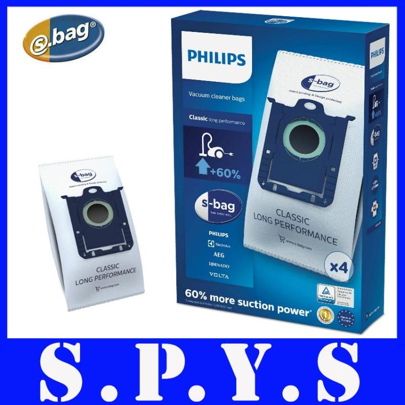 Philips FC8021 Vacuum Cleaner Bags. Also known as S-Bags. Original Philips Product. Contains 4 pcs of Philips S-Bag. Singapore