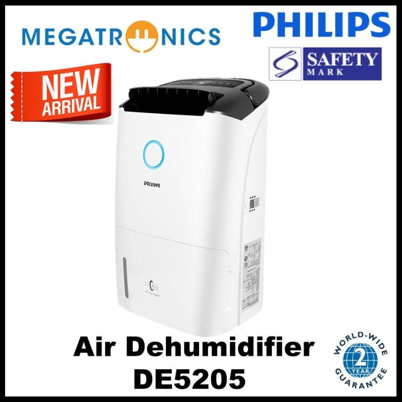 (we have stock,ship out next day) Philips Series 5000 2-in 1 Air Dehumidifier - DE5205/30 Singapore