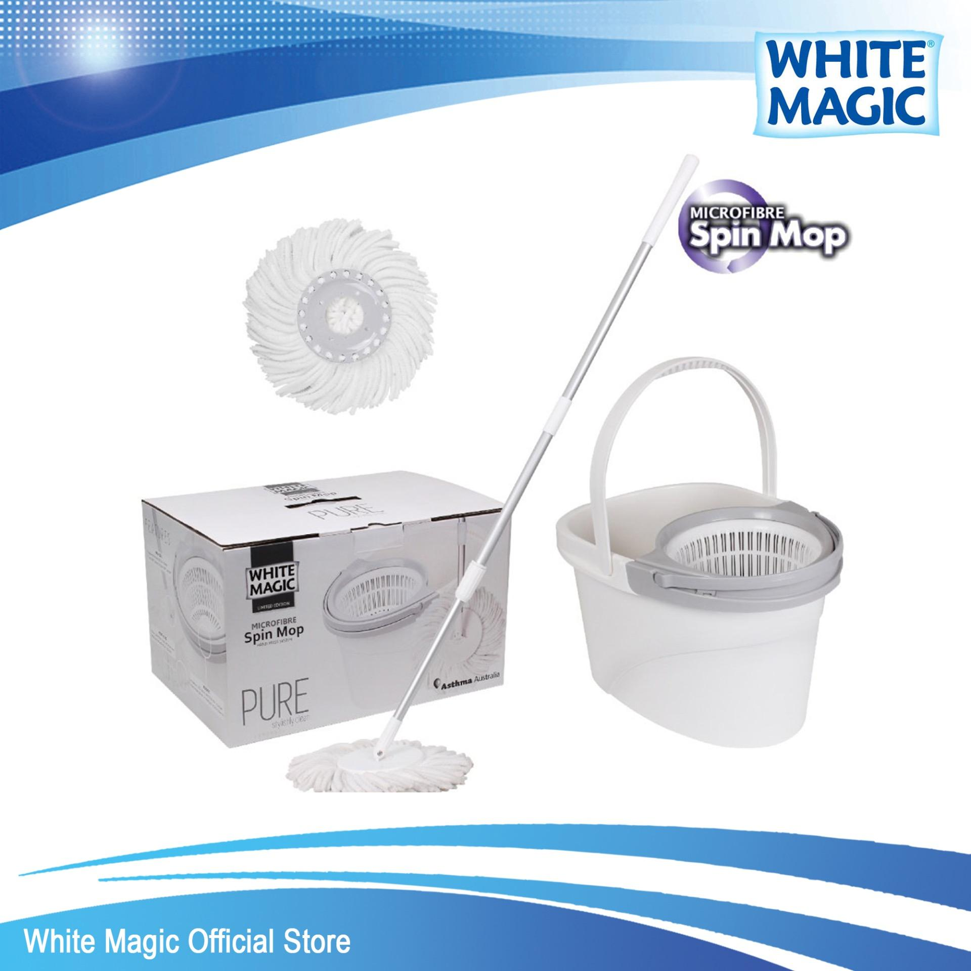 Sales Price White Magic Pure Spin Mop Set