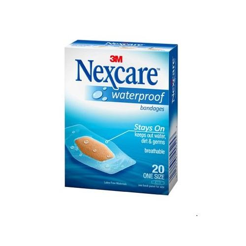 3m Nexcare Waterproof Bandage 1 1/6 X 2 1/4 Inches [586-20] By 3m Official Store.