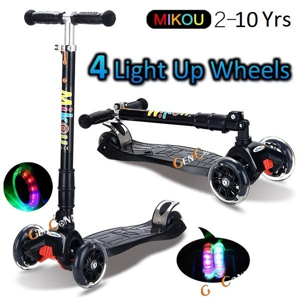 Price Comparisons For 4 Wheels Kids Scooter