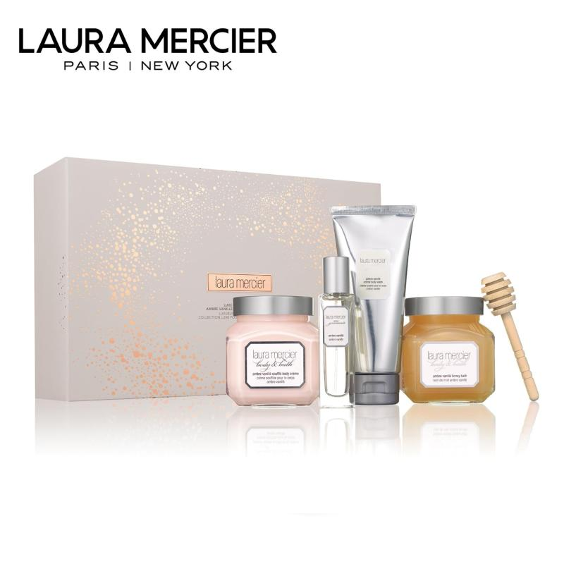 Buy Laura Mercier Luxe Indulgences Ambre Vanille Luxe Body Collection Singapore