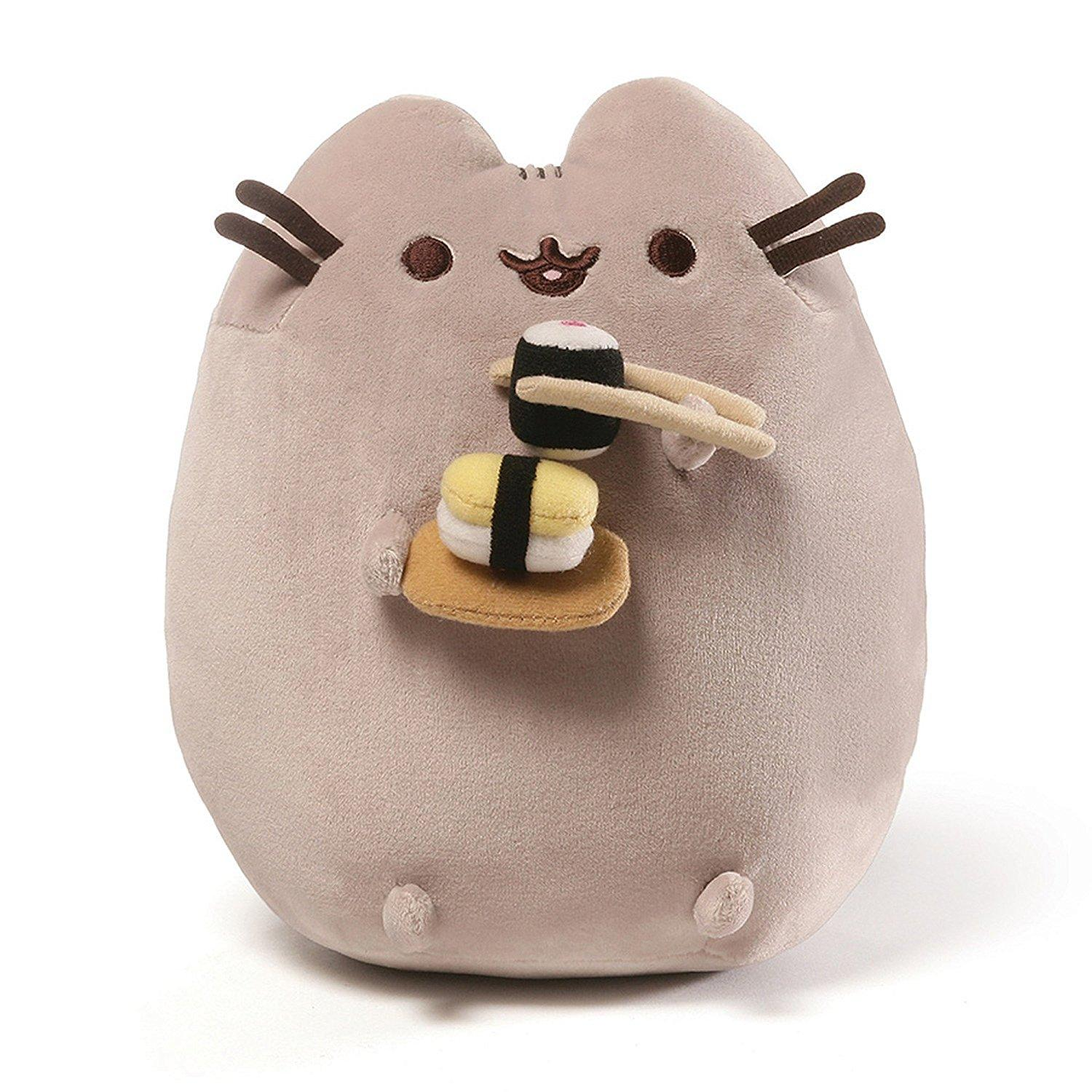 8681f4063 Gund Pusheen Sushi Snackable 9.5