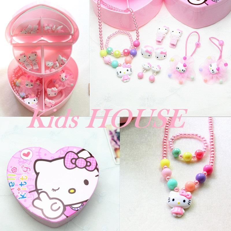 af552ebc9 Kitty w Body Jewelry / Hair Accessories Gift Set for Baby Kids Children Girl  A015