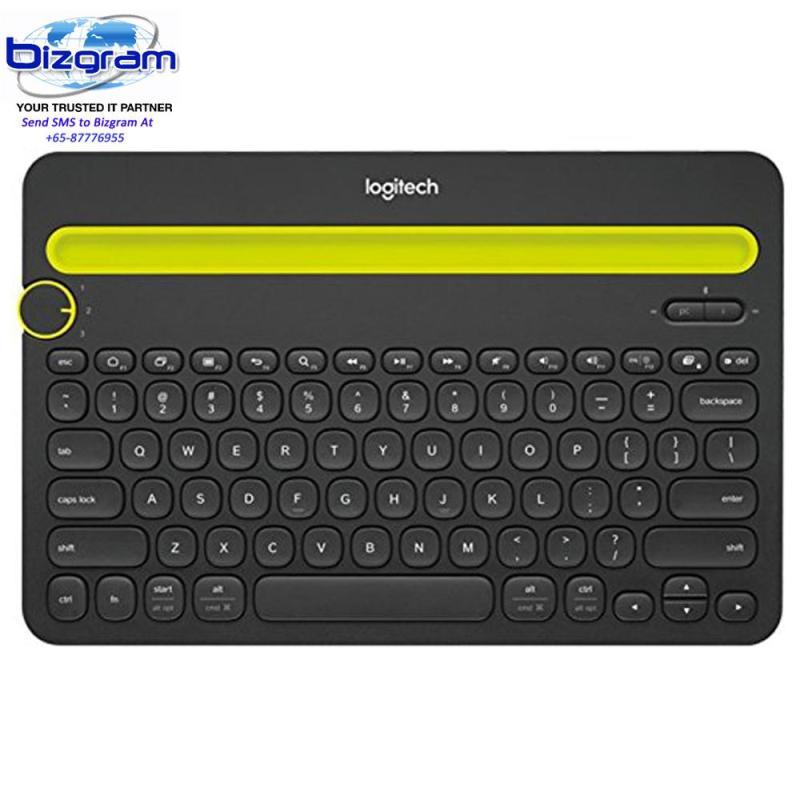 Logitech K480 Bluetooth Multi Device Keyboard - White 920-006381 Singapore