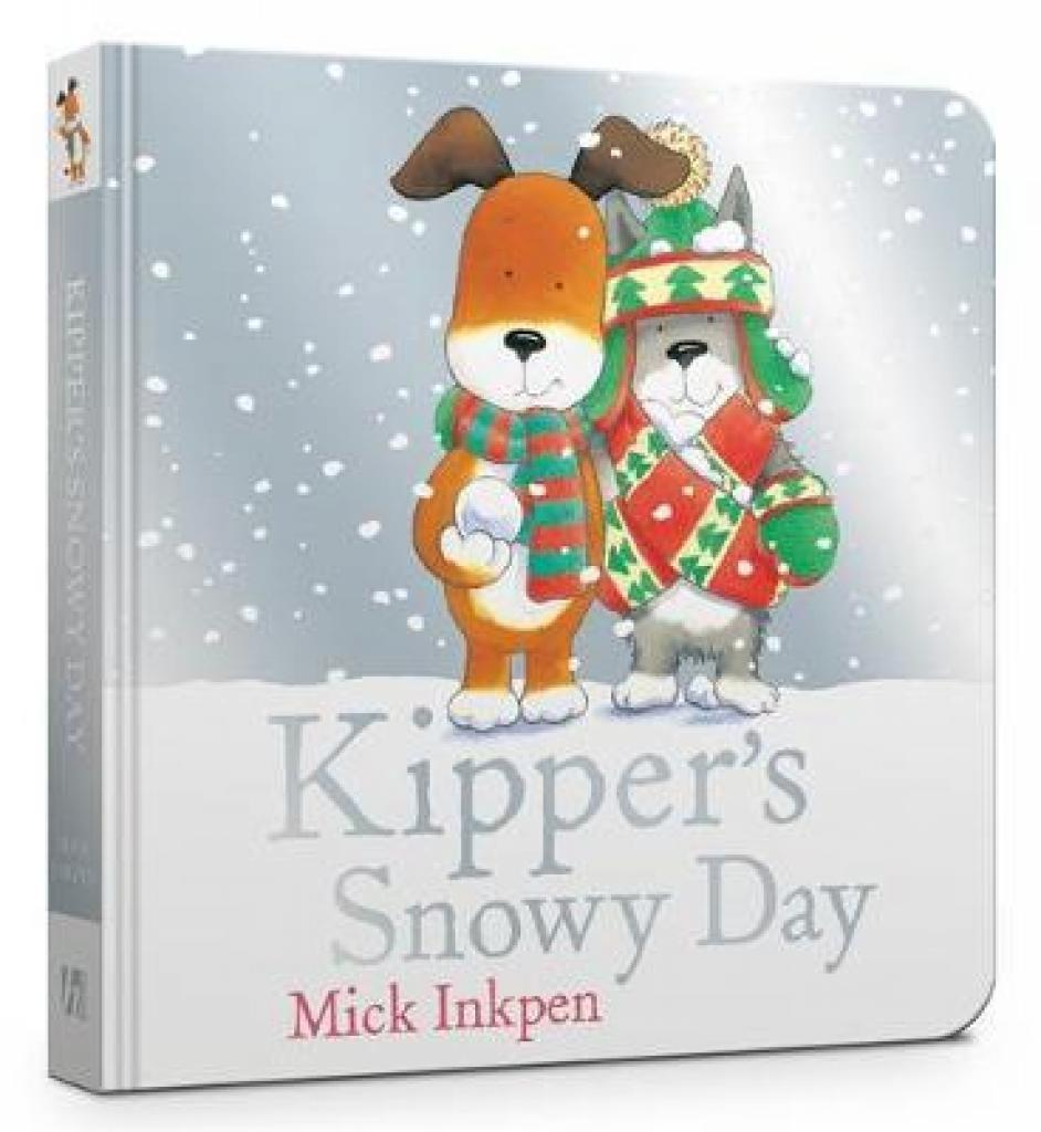 Kippers Snowy Day Board Book (Author: Mick Inkpen, ISBN: 9781444942033)