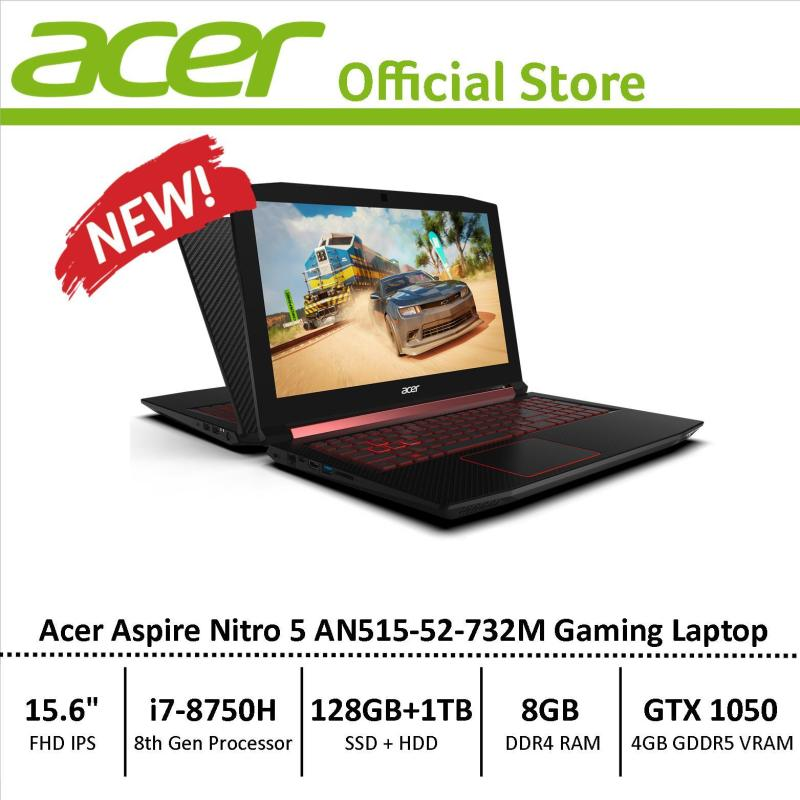 Acer Aspire Nitro 5 (AN515-52-732M) Gaming Laptop - 8th Generation i7 Processor with GTX 1050 Graphics