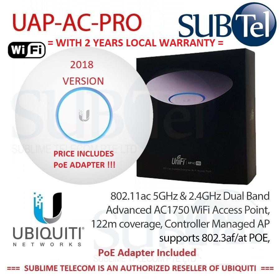 Ubiquiti Networks Access Points Lazada Unifi Ap Long Range Uap Lr Ac Pro 2018 Model Now Packed With Poe Adapter Included