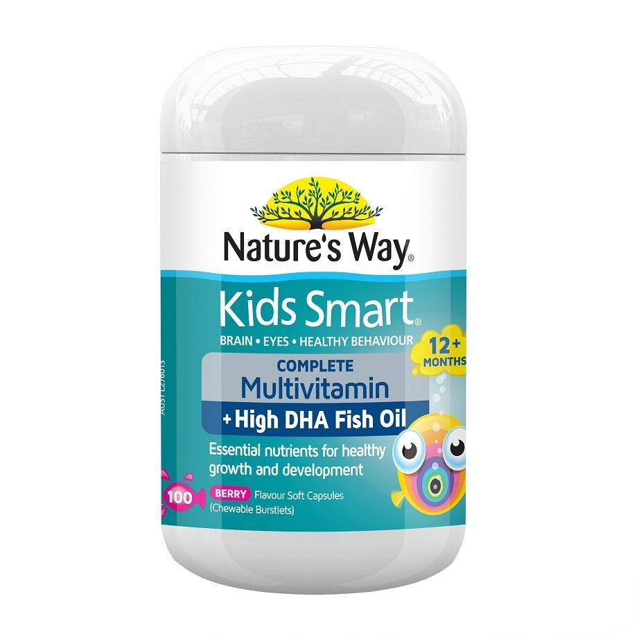 Natures Way Buy At Best Price In Singapore Www Multivitamin With Spirulina 200 Tablets Kids Smart Complete Multi Vitamin Fish Oil 100 Capsules March 2021