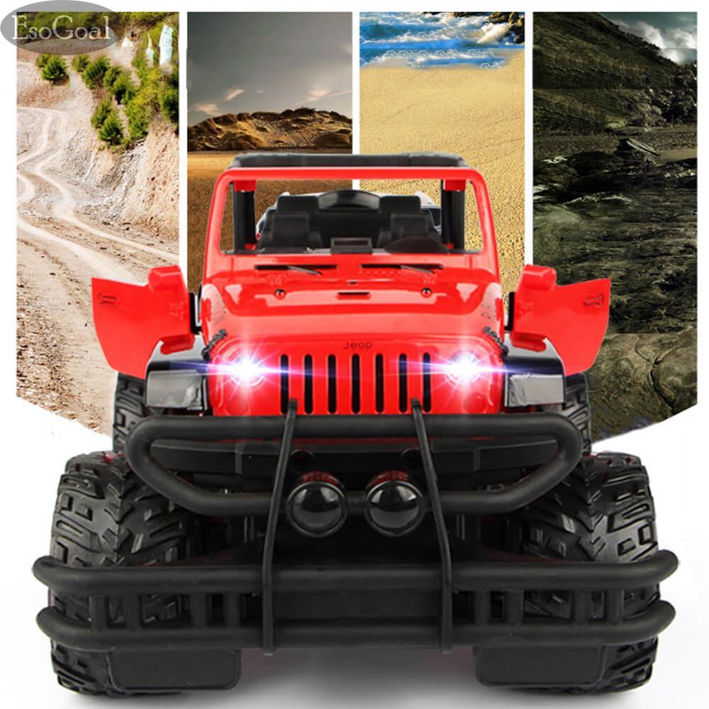 Esogoal Electric Rc Car Rock Crawler Remote Control Toy Cars Drive Off-Road Toys For Boys Kids By Esogoal.