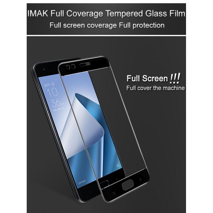 Cheap Imak Full Coverage Tempered Glass Screen Protector For Asus Zenfone 4 Ze554Kl Black