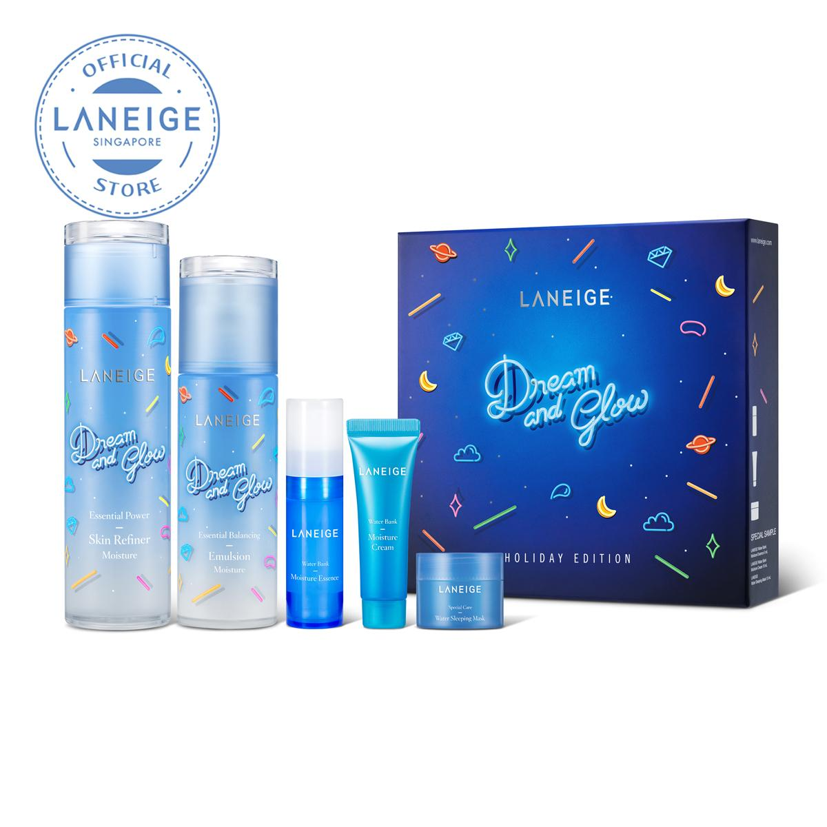 Buy Laneige Gifts Online Value Sets White Dew Ampoule Essence Set Holiday 2018 Basic Duo Moisture 5 Items
