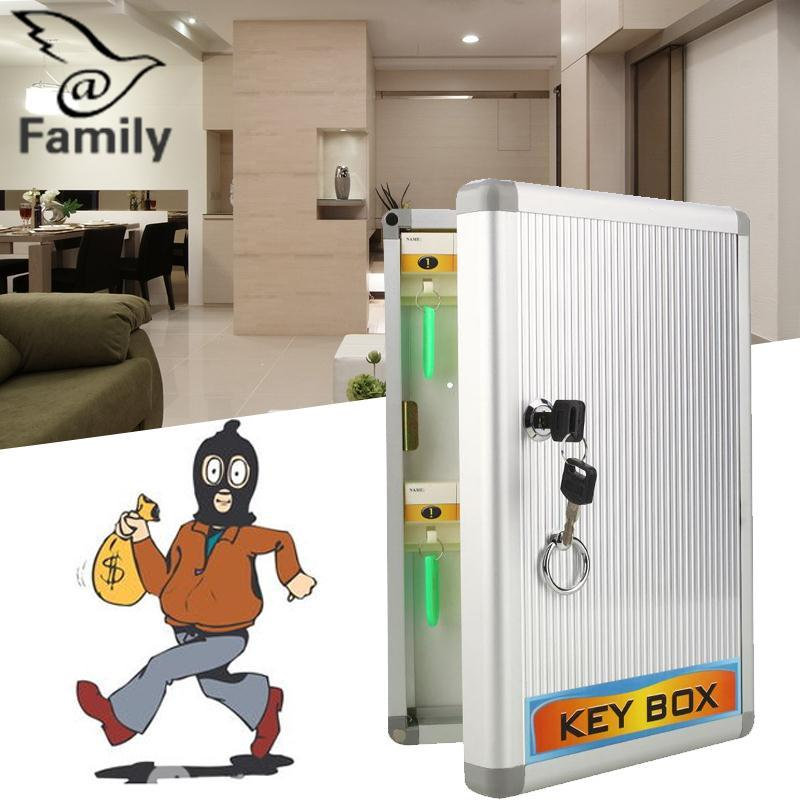 Big Family:Secure Security Safes Key Cabinet Storage Box Cabinet Combination Cash Lock Wall - intl