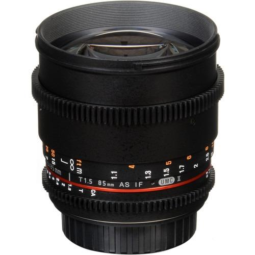 Samyang 85mm T1.5 VDSLRII Cine Lens - [For Canon EF]