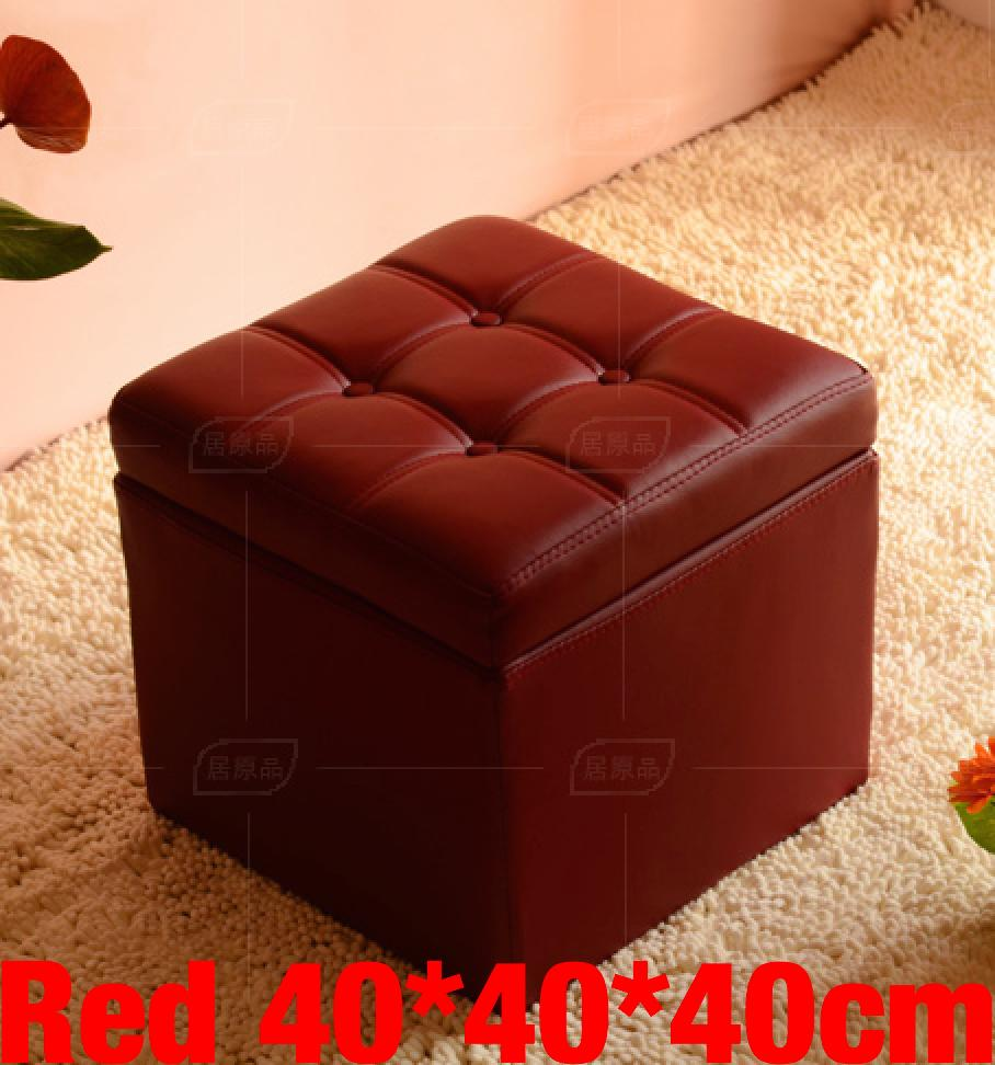Umd Type C Pu Leather Storage Ottoman Storage Box Storage Bench With Large Storage Capacity Deal
