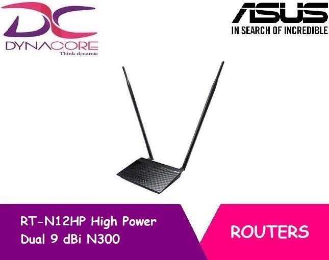 [Asus] RT-N12HP High Power Dual 9 dBi N300 B G N 3 in 1 Wireless Router  /AP/ Range Extender