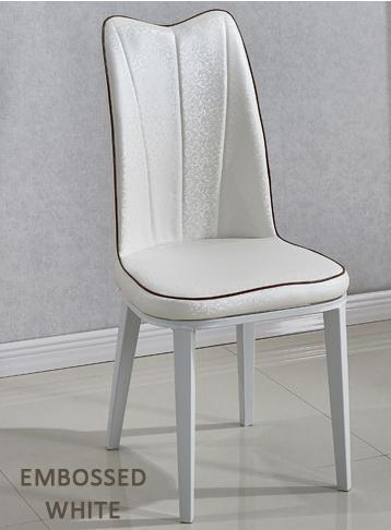 Messieurs Dining Chair - Leather (Designer Dining Chair)(Free Installation + 12 Months Warranty)