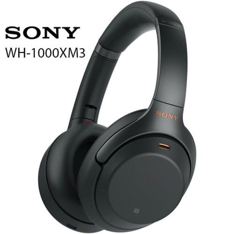 [IN STOCK] Sony WH-1000XM3 Wireless Noise Cancelling Headphones (Black) WH1000XM3 Singapore