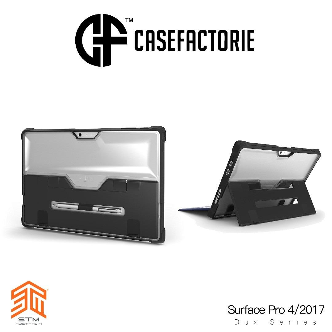 Compare Stm Dux Rugged Case With Kickstand And Pencil Holder For Microsoft Surface Pro 2017 Surface Pro 4 Prices