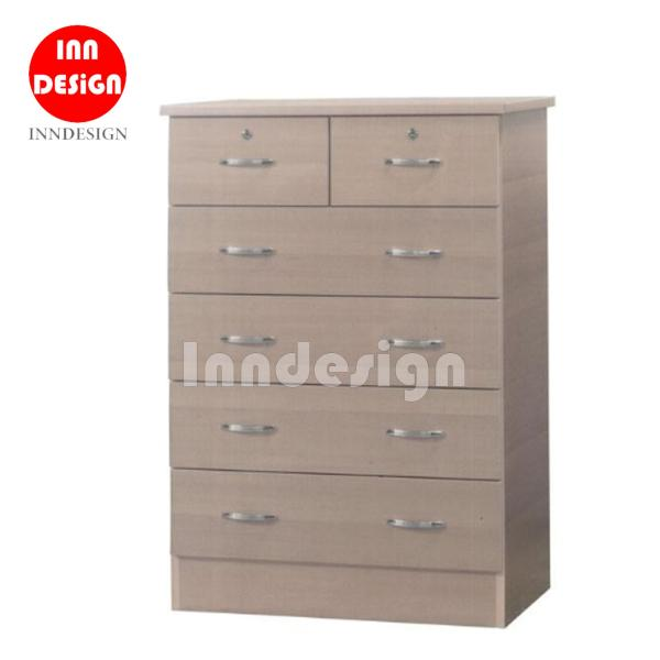 (Delivery As Usual Within 2-3 Working Days) Carousel Sliding Dressing Table with 6 Drawers (Free Delivery and Installation)