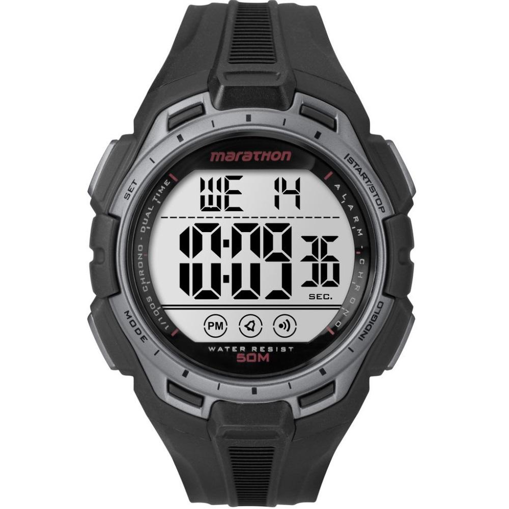 Timex Marathon® Digital Full Size Black Silver Resin Strap Tw5K94600 Timex Cheap On Singapore